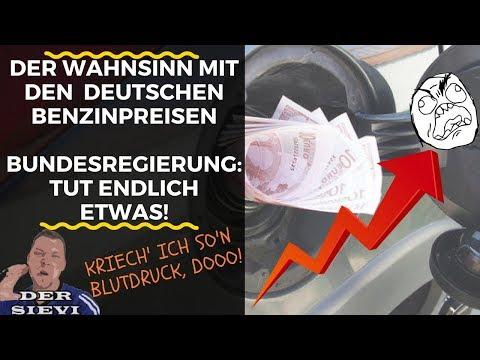 Der Wahnsinn mit den deutschen Benzinpreisen | Bundesregierung: TUT ENDLICH ETWAS!