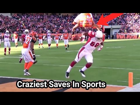 Most Amazing and Craziest Saves Moments in Sports History || Part 2