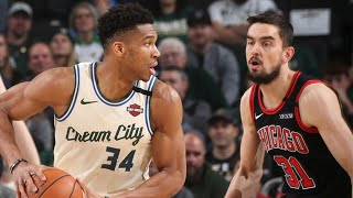 Milwaukee Bucks vs Chicago Bulls Full Game Highlights | January 20, 2019-20 NBA Season