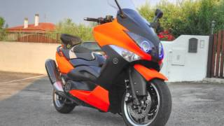Plastidip my Yamaha T-Max Tmax - by IvoTopVideo