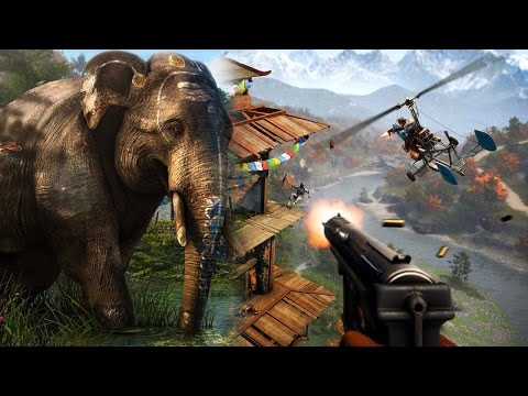 Far Cry 4 vs. Far Cry 3: Das ist neu