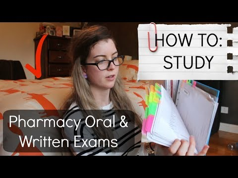 Studying for Pharmacy Intern Exams | themarissakate