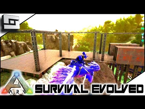 ARK: Survival Evolved - METAL BASE SHELL COMPLETE! S2E62 ( Gameplay )