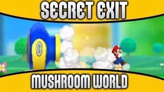 New Super Mario Bros. 2 - World 1-Fortress Secret Exit & Unlock Mushroom World
