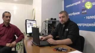 Vitaliy kompyuterda Piskun, bolalar yordam