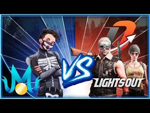 LIGHTS OUT vs MEDAL! | PUBG Mobile Custom Games
