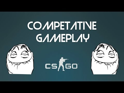 CS:GO - Competative Gameplay (with sunnymine,PEREVODCHIK,420SmurfingBitch and Penkiee)