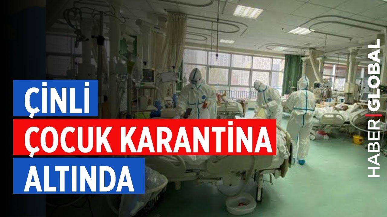 İstanbul'da Korona Virüs Şüphesi! Çinli Çocuk Karantinada
