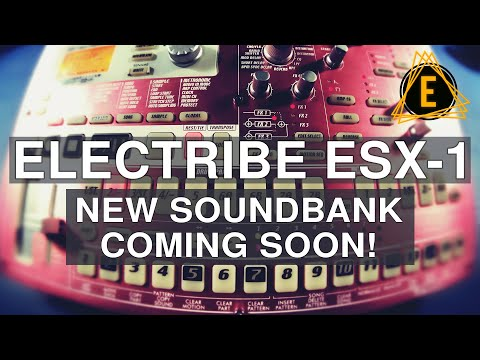 Electribe ESX-1 (New Soundbank Coming Soon!)