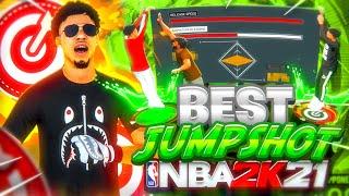 BEST CUSTOM JUMPSHOT IN NBA 2K21! BEST GREENLIGHT JUMPSHOT FOR ALL BUILDS! *NEW* BEST BUILD NBA2K21