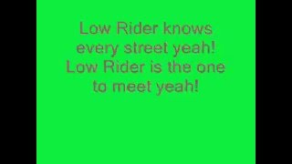 Lowrider with lyrics - War