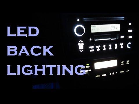 Stereo And HVAC LED Backlighting Upgrade