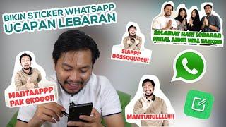 Cara Bikin Sticker WhatsApp Dalam 2 Menit, Gampang Banget!