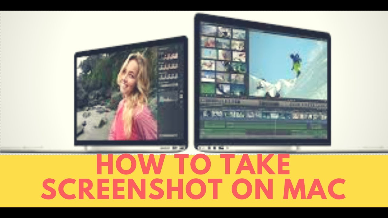 How to take screenshot on macbook pro/air - YouTube