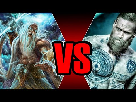 Zeus Vs Baldur- Battle Of The Gods! God Of War