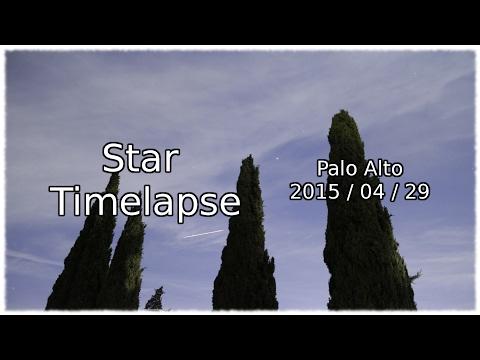 Star Timelapse 2 (Palo Alto)
