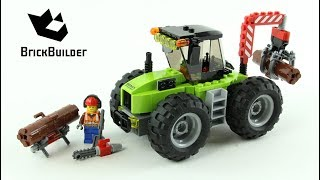 Lego City 60181 Forest Tractor - Lego Speed Build
