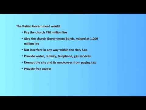 MrsK - a Legal Perspective:  11 Why is Vatican City an Independent State?