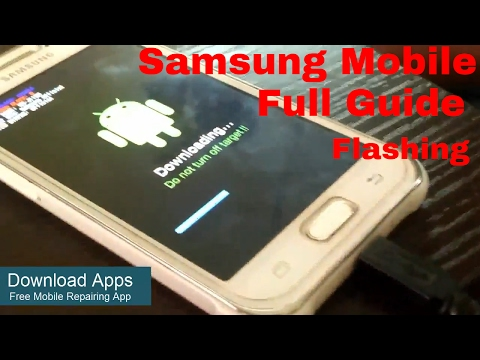 [Hindi/Urdu] Mobile Software Flashing Complete guide step by step in Hindi   Samsung All Device  