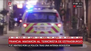 Francia: mataron al terrorista de Estrasburgo