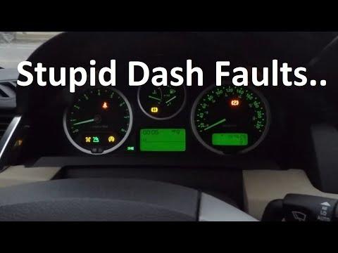 Range Rover Dash Faults Continue, Next Step...