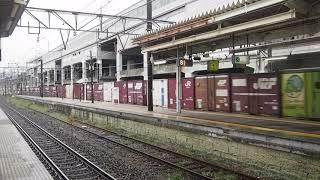 EH500形電気機関車牽引東北本線下り貨物列車(那須塩原通過) Form EH500 Electric Locomotive Towing Freighnt Train at Nasushiobara