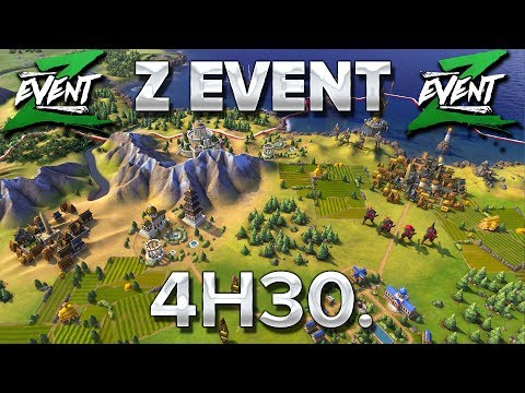 Z Event #20 : Civilization VI à 8