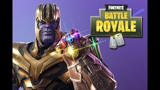 Winning without Thanos! (Fortnite Battle Royale)
