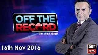 Off The Record 16th November 2016