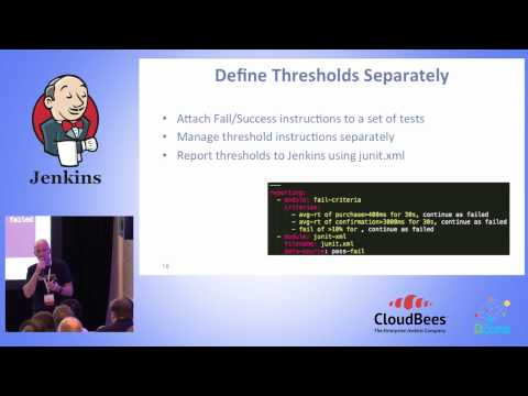 JUC U.S. East 2015 - The Secret to Scaling Performance Test Automation with Jenkins and JMeter