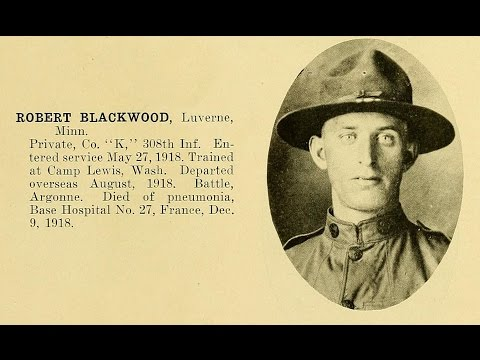 Photographs of American Servicemen Killed During World War 1: Part 1 (1910's)
