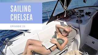 Episode 21 - Sailing Chelsea - A stressful 4 day crossing to Portimao!