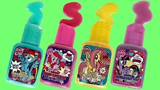 MLP My Little Pony Finger Bath Paint Set Creative Play for Kids