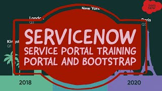 #9 ServiceNow Service Portal Training | Portal and Bootstrap
