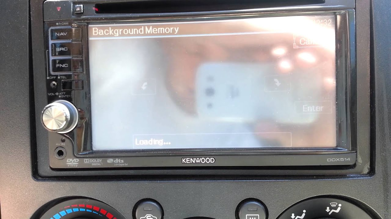 How To Install Pic For Kenwood Ddx 512