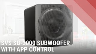 SVS SB3000 Powered Subwoofer with Bluetooth Controls - Quick Look India