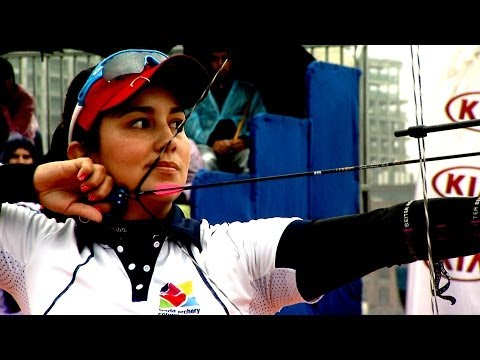 Choi Bomin v Sara Lopez – compound women's gold | Shanghai 2014 Archery World Cup S1
