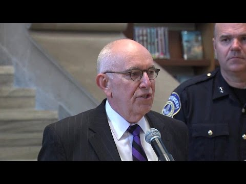 FULL VIDEO: IMPD announces High Intensity Drug Trafficking Area designation for Indianapolis
