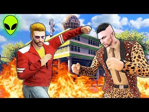 GRAND THEFT ALIEN: Episode #24 - The Showdown   SEASON FINALE (GTA 5 CINEMATIC)