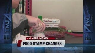 Food stamp changes g๐ into effect