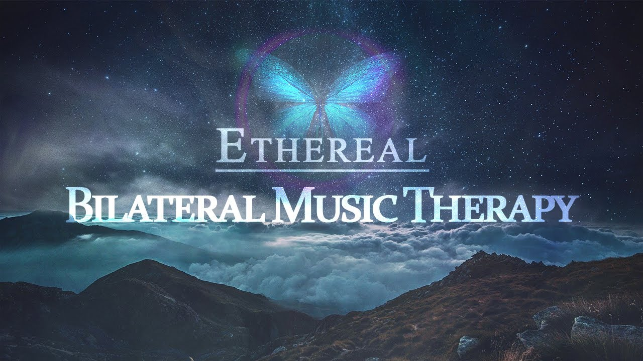 Quick Ethereal Bilateral Music Therapy Session | For Stress, Anxiety, PTSD, Nerves | EMDR, Brainspot