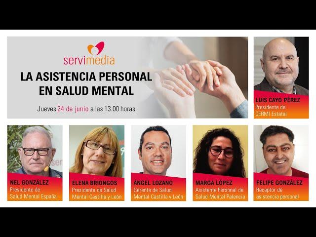 """Diálogo sobre """"La Asistencia Personal en salud mental"""