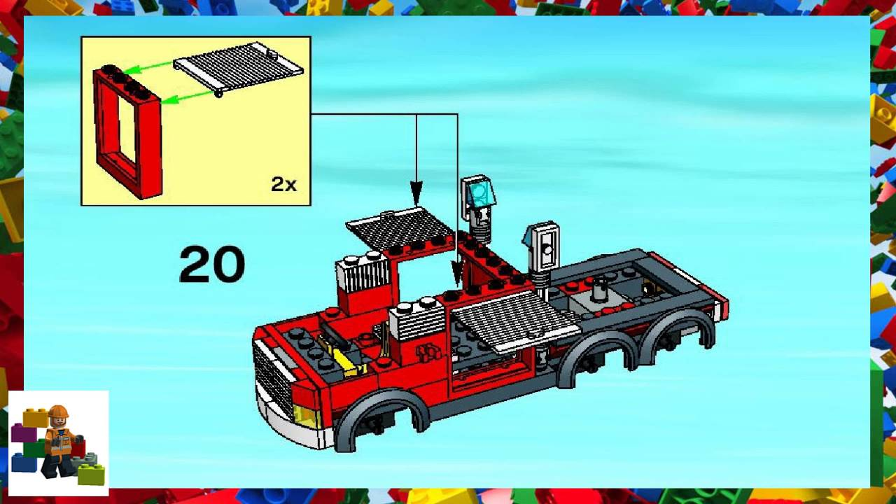 LEGO instructions - City - Fire - 7239 - Fire Truck (Book 1)