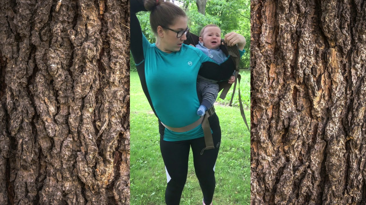 c5d57fd6c11 Getting your Baby into and out of a Back Carry (using an Onya Baby Outback  Soft-Structured Carrier)