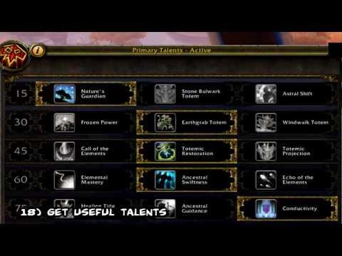 MoP Leveling Guide (Elemental Shaman) WoW