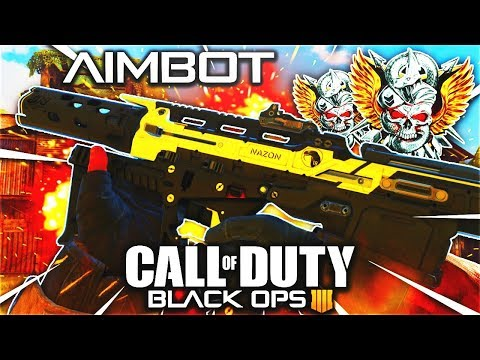 The AIMBOT Setup... (MUST TRY) - FLAWLESS 44 K/D NUCLEAR BEST MADDOX RFB CLASS SETUP in COD BO4!