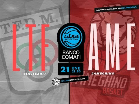 #LaLigaArgentinaBancoComafi | 21.01.2019 Lactear Tiro Federal vs. Ameghino