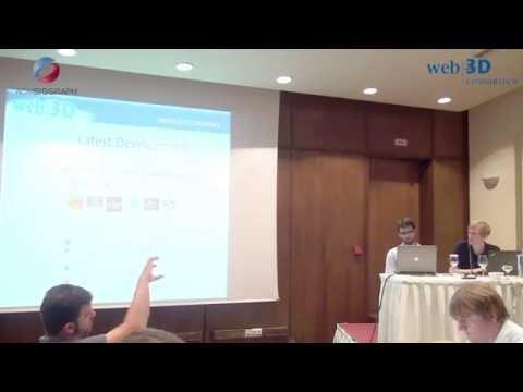 Web3D 2015 Conference, June 19 part 2 tutorials