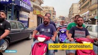 Kapper Adnan is stem van het volk tijdens opstanden Libanon