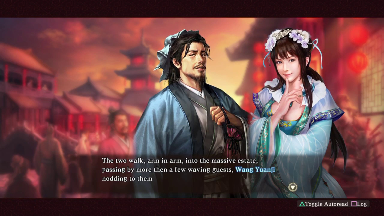 ROMANCE OF THE THREE KINGDOMS XIII Original Event - How to/not marry a  socialite